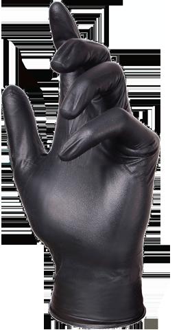 Glove Plus Prime Nitrile Black Glove
