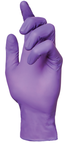 Glove Plus Ultra Purple Glove